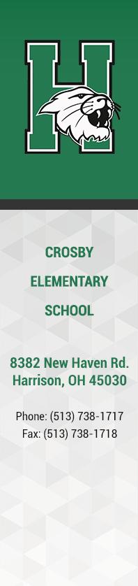 Crosby Elementary Triple Panel