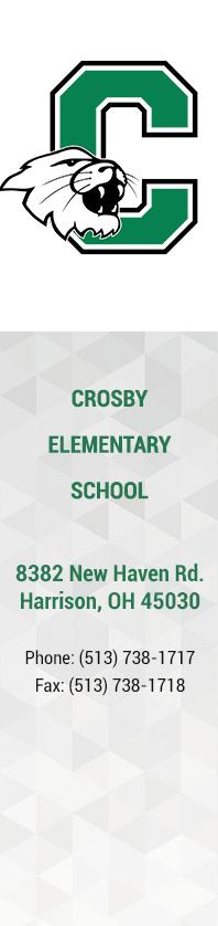 Crosby Elementary School - Purple Badge