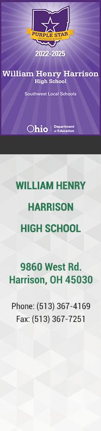 Harrison High School - Purple Badge